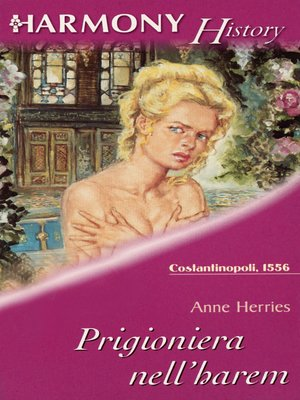 cover image of Prigioniera nell'harem