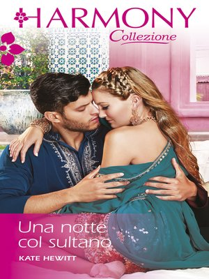cover image of Una notte col sultano