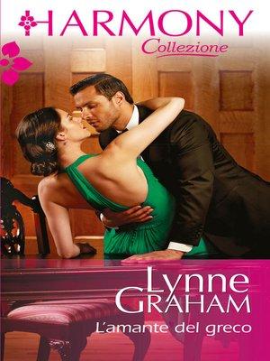 cover image of L'amante del greco