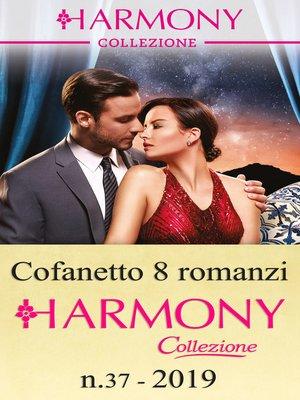cover image of Cofanetto 8 Harmony Collezione n.37/2019