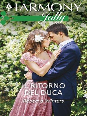 cover image of Il ritorno del duca