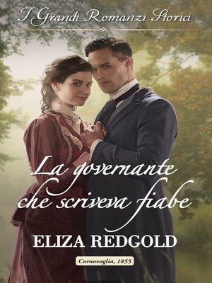 cover image of La governante che scriveva fiabe