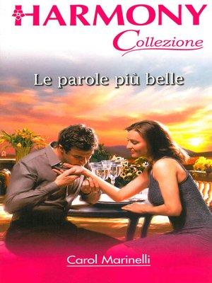 cover image of Le parole più belle