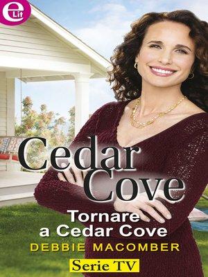 cover image of Tornare a Cedar Cove