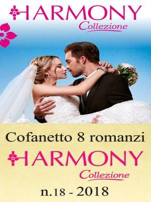 cover image of Cofanetto 8 Harmony Collezione n.18/2018