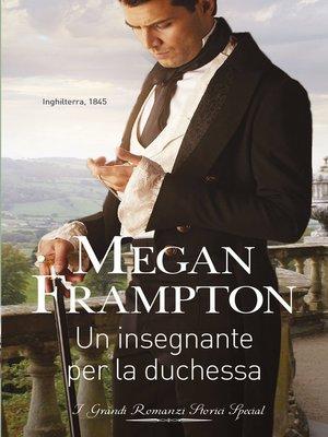 cover image of Un insegnante per la duchessa