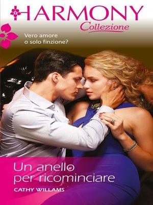 cover image of Un anello per ricominciare