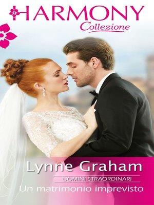 cover image of Un matrimonio imprevisto