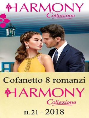 cover image of Cofanetto 8 Harmony Collezione n.21/2018
