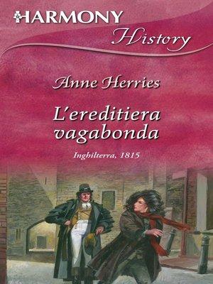 cover image of L'ereditiera vagabonda