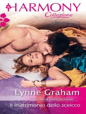 cover image of Il matrimonio dello sceicco