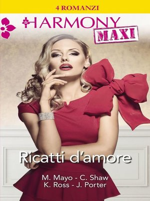 cover image of Ricatti d'amore