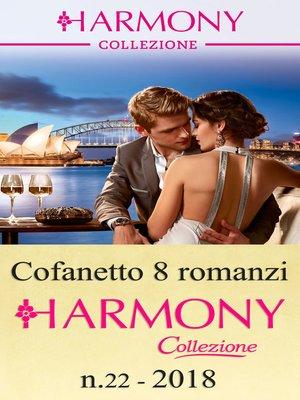 cover image of Cofanetto 8 Harmony Collezione n.22/2018