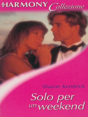 cover image of Solo per un weekend