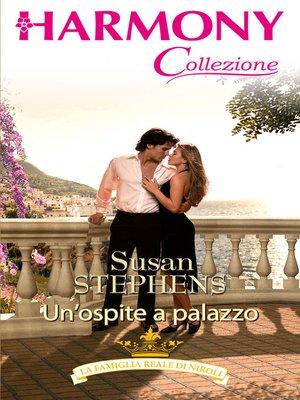 cover image of Un'ospite a palazzo