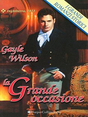 cover image of La grande occasione