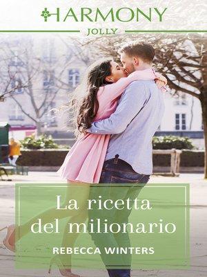cover image of La ricetta del milionario
