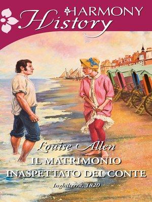 cover image of Il matrimonio inaspettato del conte