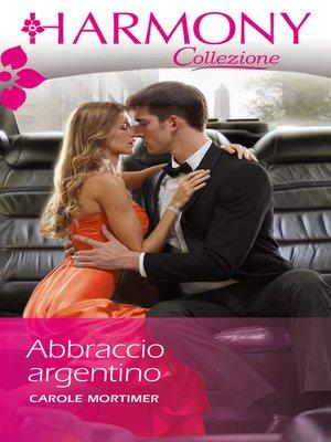 cover image of Abbraccio argentino