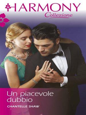 cover image of Un piacevole dubbio