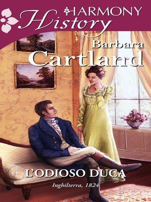 cover image of L'odioso duca