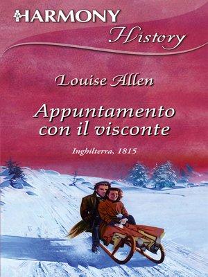 cover image of Appuntamento con il visconte