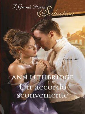 cover image of Un accordo sconveniente