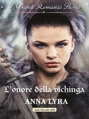 cover image of L'onore della vichinga