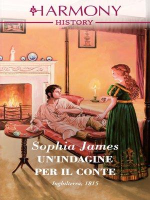 cover image of Un'indagine per il conte