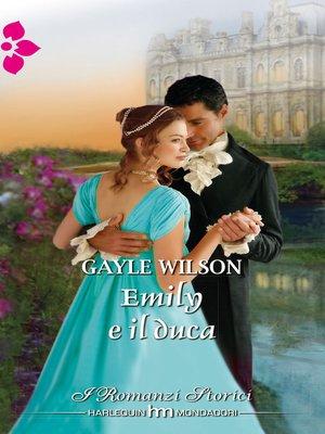 cover image of Emily e il duca