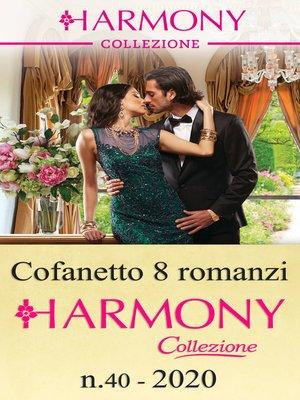 cover image of Cofanetto 8 Harmony Collezione n.40/2020