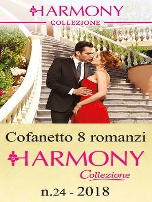 cover image of Cofanetto 8 Harmony Collezione n.24/2018