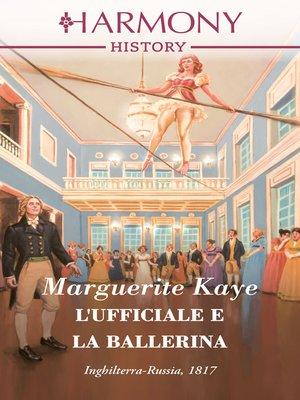 cover image of L'ufficiale e la ballerina
