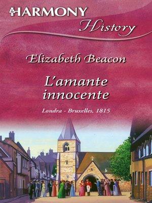 cover image of L'amante innocente