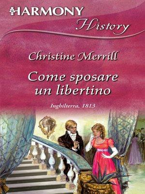 cover image of Come sposare un libertino