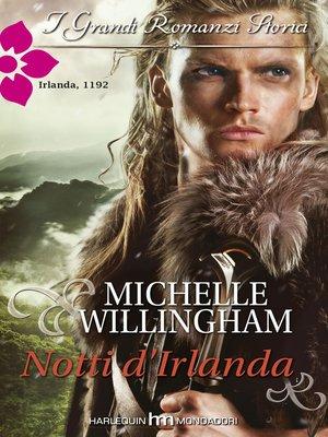 cover image of Notti d'irlanda
