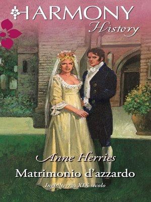 cover image of Matrimonio d'azzardo