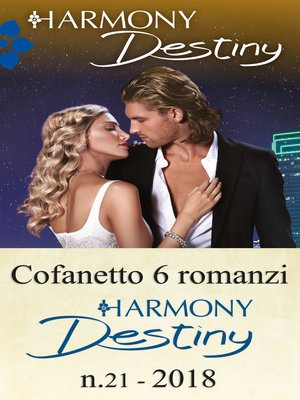 cover image of Cofanetto 6 Harmony Destiny n.21/2018