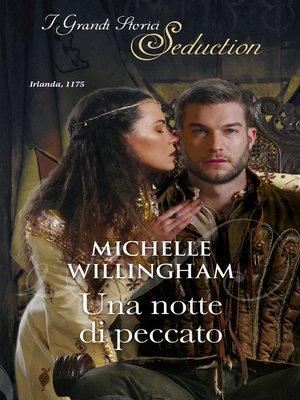 cover image of Una notte di peccato
