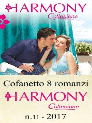 cover image of Cofanetto 8 romanzi Harmony Collezione--11