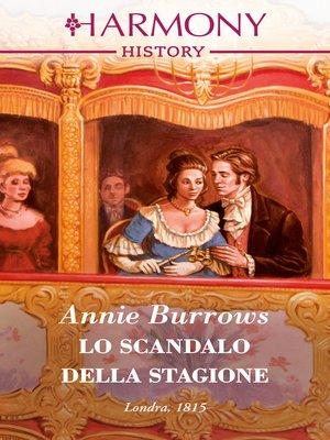 cover image of Lo scandalo della Stagione