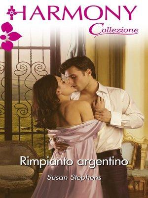 cover image of Rimpianto argentino