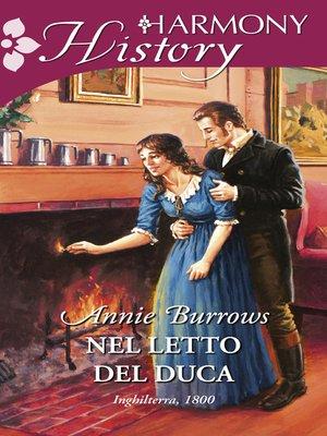 cover image of Nel letto del duca
