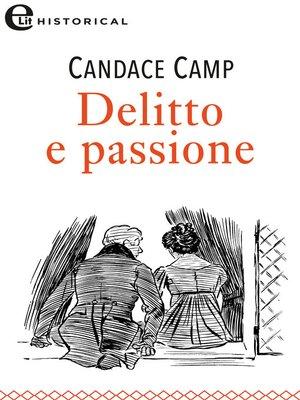 cover image of Delitto e passione