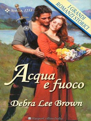 cover image of Acqua e fuoco