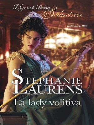 cover image of La lady volitiva