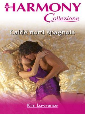 cover image of Calde notti spagnole