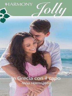 cover image of In Grecia con il capo