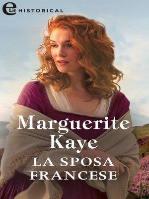 cover image of La sposa francese