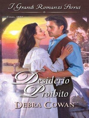 cover image of Desiderio proibito